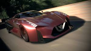 nissan supercar concept full scale model of the nissan concept 2020 vision gran turismo to
