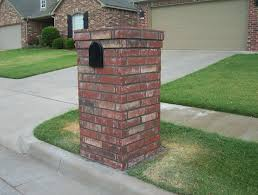 exteriors brick mailbox designs with black paint unique mailbox