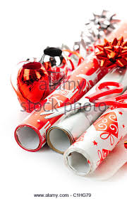 rolls of wrapping paper rolls christmas wrapping paper stock photos rolls christmas