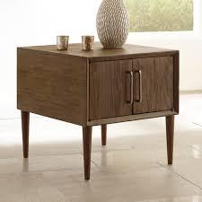 Ashley Furniture Bedroom End Tables Ashley Furniture Kisper Square End Table In Dark Brown Local