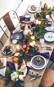 thanksgiving table setting ideas from thanksgiving