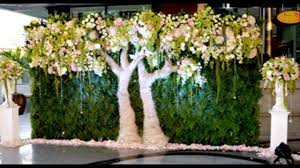 wedding backdrop green madurai decorators green wedding backdrop