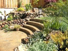 Steep Hill Backyard Ideas Steep Backyard Ideas Terraced House Garden Design Stairs In