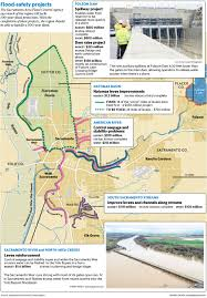 Elk Grove Ca Map Sacramento Still Faces Flood Risk After Years Of Drought The