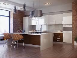 cuisine blanc laqué cuisine blanc laque avec ilot élégant 10 idées de cuisines aux