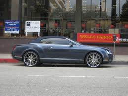 bentley custom rims bentley continental gtc with rims on rodeo drive 1 madwhips