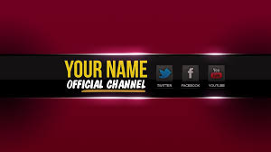free youtube banner layout youtube banner layout psd olvin abarca