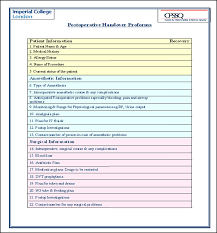 doc 585650 handover report template u2013 handover report template