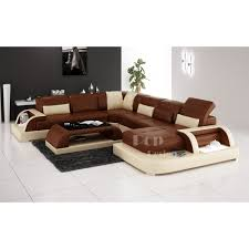 canapé d angle marron chocolat canapé d angle panoramique design en cuir véritable bolzano xl