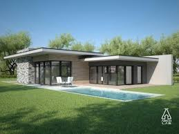 luxury modern exterior design of the contemporary ranch image with
