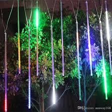 led meteor shower tube lights 20cm 30cm 50cm meteor shower rain tubes led mini meteor lights led