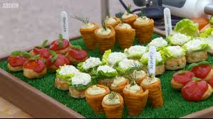 baked canapes frances vegetable canapes including cauliflower scones great