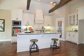 traditional kitchen with inset cabinets high ceiling in jenks