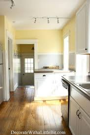 what color goes with yellow kitchen cabinets 27 diy home decorating projects to make yellow kitchen
