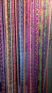 rideau de création d un rideau de porte en élastiques