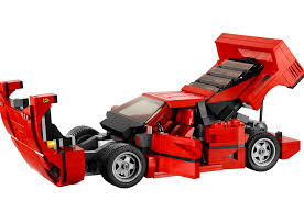 lego bentley lego releases detailed ferrari f40 creator set