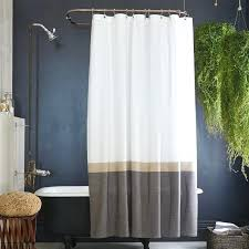 Burlap Shower Curtains Fringed Burlap Curtain Panels Image Of Burlap Shower Curtain Diy