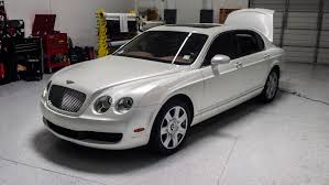 bentley continental matte white wrap bentley flying spur pearl with copper starlight u2014 incognito wraps