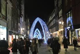 the christmas lights of london canadian mama in london