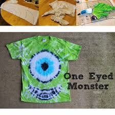 halloween shirts for kids halloween tie dye party one eyed monster mike wazowski full
