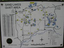 Michigan Trail Maps by Day Hike U2013 Sand Lakes Quiet Area August 27 2009 Trail Maps