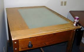 Drafting Table With Light Box Value Of Drafting Light Table Wetcanvas
