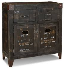 Sideboard And Buffets by Rustic Distressed Style Solid Wood Ny Graffiti Sideboard Buffet