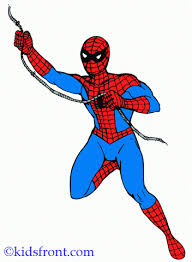 spiderman coloring pages kids color print