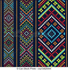 eps vector of color variants ethnic ornament csp13825444 search
