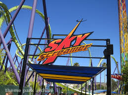 Six Flags Valejo Skyscreamer At Six Flags Discovery Kingdom Theme Park Archive