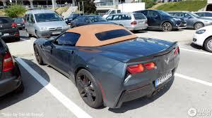 corvette c7 convertible chevrolet corvette c7 stingray convertible 28 may 2017 autogespot