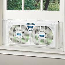 electrically reversible twin window fan 8 2 speed reversible twin window fan adjustable thermostat air