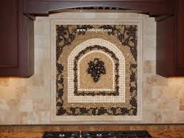 kitchen mosaic backsplash kitchen kitchen mosaic tile backsplash grapes medallions medallion