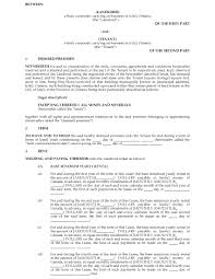 Commercial Lease Sample Ontario Commercial Triple Net Lease Agreement Legal Forms And