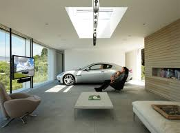 inside home design pictures cars parked inside homes pretty or pretty weird