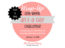 Challenge Tips Top 5 Tips For Thm E Meals And Snacks Challenge Wrap Up Oh