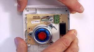 installation siemens room thermostat youtube