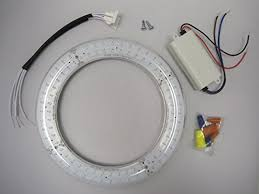 circular fluorescent light led replacement 8 transparent ul circline led day light 5500k long life plug in