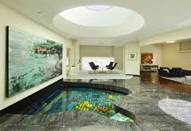 indoor ponds designs inspire house design and interior decor of the 60s style