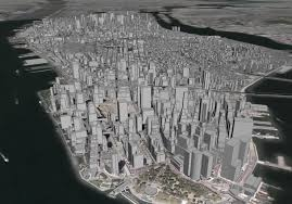 Google Maps New York City by Kemek The Earth According To Google