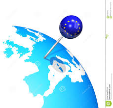 Europe And Asia Map by Globe Europe And Asia Map Blue Icon Stock Image Image 26815851