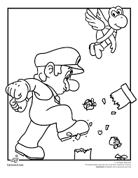 toad coloring pages super mario coloring