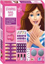 ekta stamping nail art kit 8 years plus online india buy art