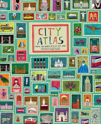 City Maps Book City Atlas Travel The World With 30 City Maps Mod Mama