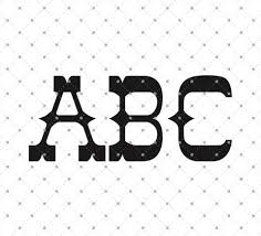 initial monogram fonts vectorized fonts svg cut files svg cut studio