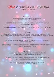 christmas parties u0026 bookings at red bar u0026 restaurant weybridge now