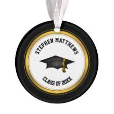 personalized graduation ornament graduation ornaments keepsake ornaments zazzle