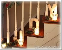 Banister Christmas Ideas Best 25 Christmas Staircase Decor Ideas On Pinterest Christmas