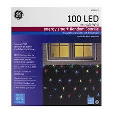 ge commercial grade icicle lights random sparkle ge energy smart elegant sparkling multicolor led plug in 5 x 4