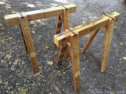 dyi sawhorses without nails screws or glue album on imgur